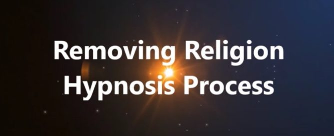 Removing Religion Hypnosis Process