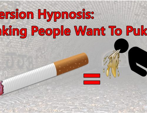 Making People Sick When They Think of Smoking (aversion hypnosis)