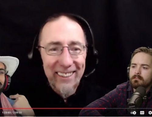 "Hear David Barron speak on the YouTube podcast ""The Drip"""